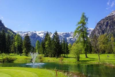Golf in den Alpen