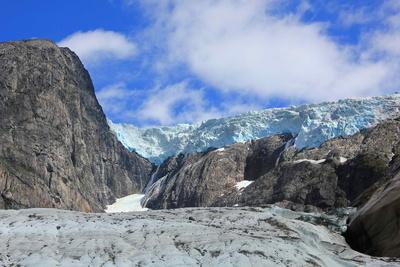 Gletscher Brenndalsbreen