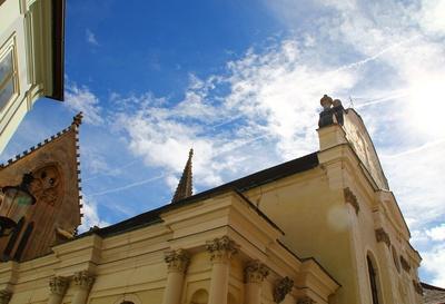 Bratislava - Klarissenkirche mit Kloster 02