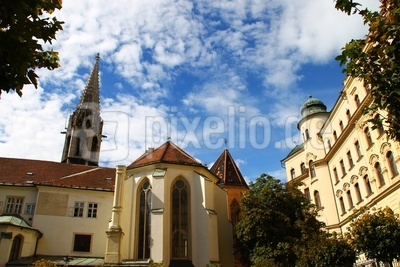 Bratislava - Klarissenkirche mit Kloster 04