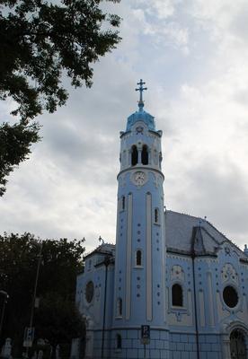 Bratislava - Blaue Kirche 02