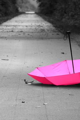 pink gegen grau