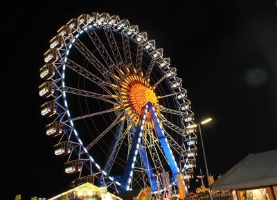Das Riesenrad bei Nacht 04