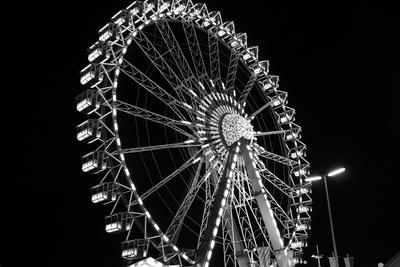 Das Riesenrad bei Nacht 05