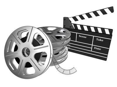 Filmklappe aufeinander