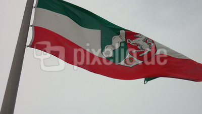 Fahne  Nordrhein-Westfalen