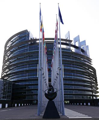 Europaparlament Strasbourg . . . .