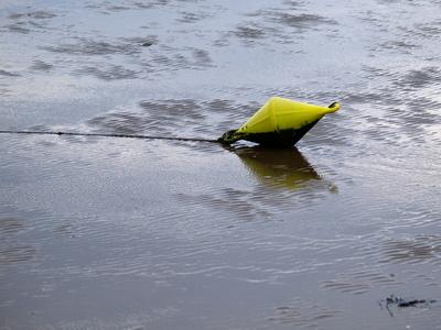 gelb... Watt Wasser weg