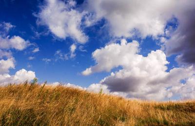 Wolkenstimmung im Sommer
