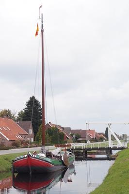 """Torfschiff """" Frauke""""  ,Großefehn"""
