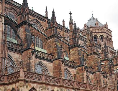 Das Straßburger Münster , . . . .