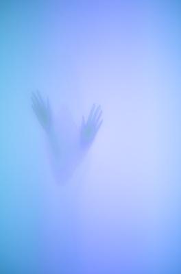 Weiche Silhouetten (blaue Serie) 07