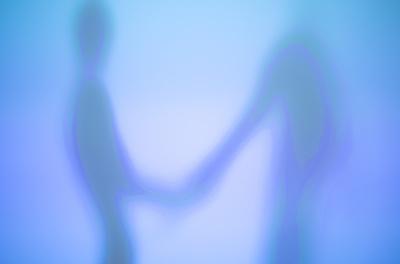 Weiche Silhouetten (blaue Serie) 03