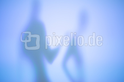 Weiche Silhouetten (blaue Serie) 01