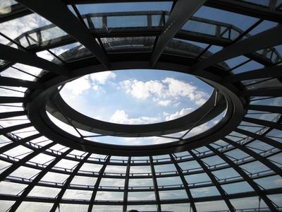 Ufo Reichstag-Kuppel