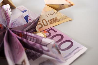 Geld-Origami
