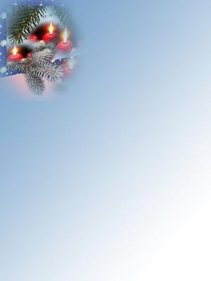 Briefpapier Weihnachten II