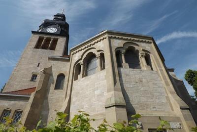 Die Kirche in Oldisleben
