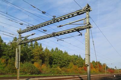 Strom für die Bahn