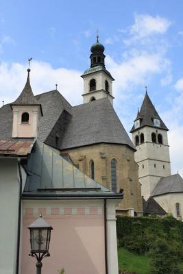 Kirche in Kitzbühel