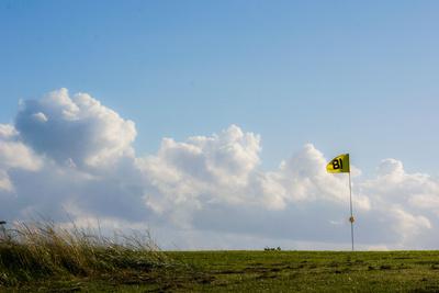 Golfplatz 18. Grün