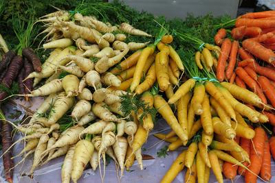 Sortenvielfalt auf dem Möhrenmarkt