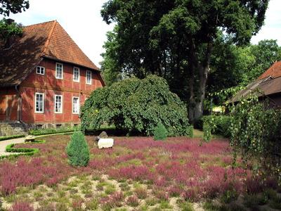 Heidegarten hintern Haus