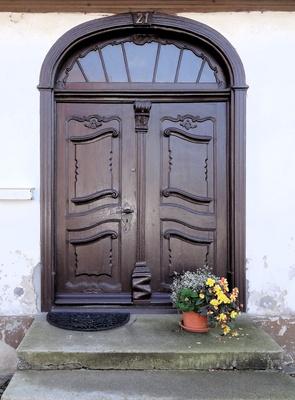 Wolgast, Historische Eingangstür