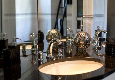 Luxus-Waschplatz