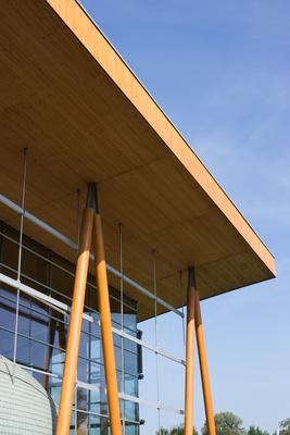 Ausstellungshalle Dacharchitektur