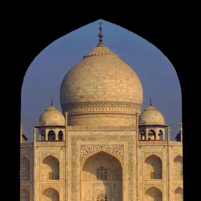 Durchblick zum Taj Mahal