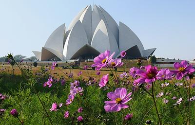 Lotus-Tempel in Delhi