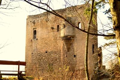 Lobdeburg Ruine