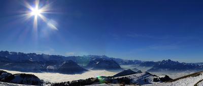 Die Zentralschweiz von oben