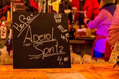 Heißer Aperol Spritz!