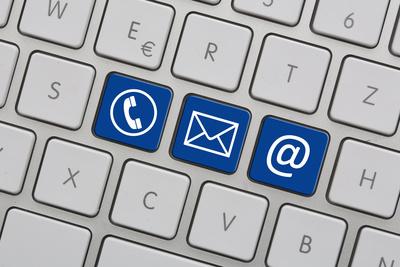 Tastatur / Kontakt (blau)