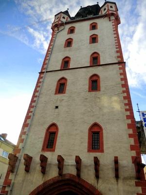 Der Holzturm in Mainz