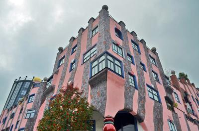 Hundertwasserhaus in Magdeburg - Grüne Zitadelle