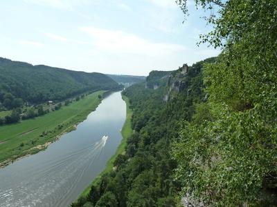 Elbsandsteingebirge - Ausblick