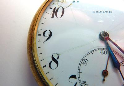 Urgroßvaters Taschenuhr ..