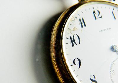 Urgroßvaters Taschenuhr ......
