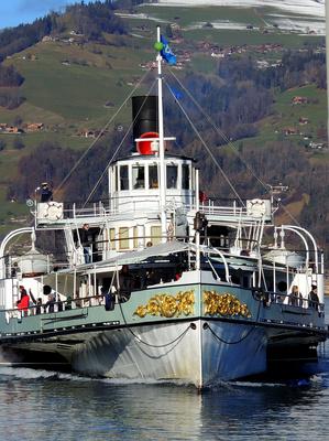Dampfschiff Blümlisalp