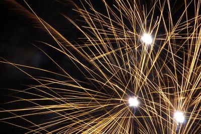 Feuerwerk, Silvester, Nacht, Himmel, Neujahr