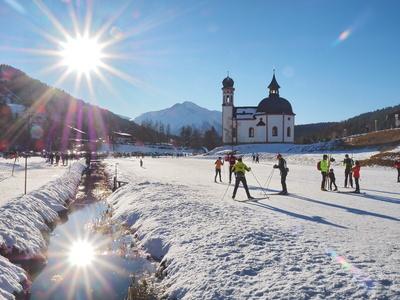 Wintersport in Seefeld