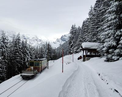 Die Bergbahn Lauterbrunnen-Mürren (BLM)