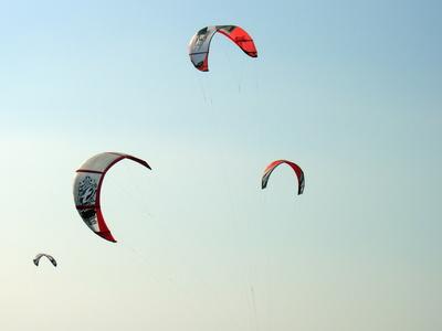 Kitesurfer-Segel