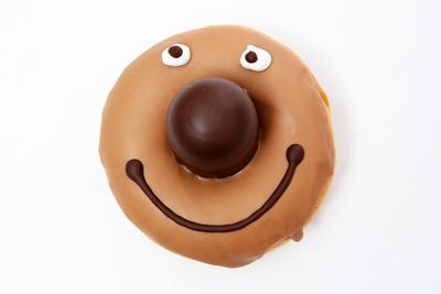 Donut Gesicht