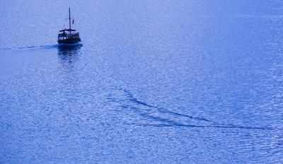 Stiller Genuss für Bootsausflügler