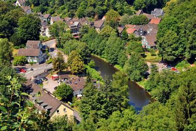 Aussicht Solingen Burg NRW