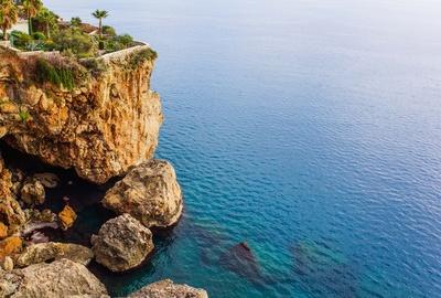 Antalya - Steilküste am Meer 3